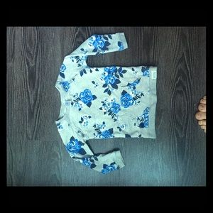 Carters toddler floral sweatshirt 18-24 months